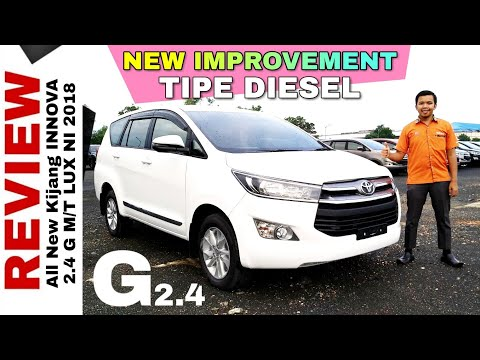 Explorasi INNOVA G DIESEL New Improvement 2018 Toyota Indonesia