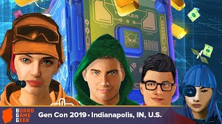 Heist Board Game Geek Overview at GenCon 2019
