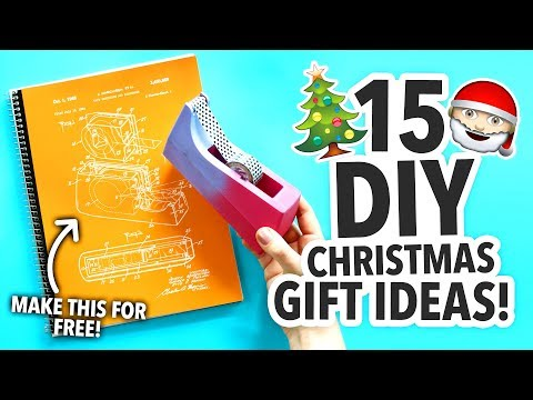 15 Cheap DIY Christmas Gift Ideas