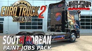ETS 2 DLC | South Korean Paint Jobs Pack | EURO TRUCK SIMULATOR 2 DLC