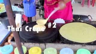 Thai Crepe Vendor Showdown