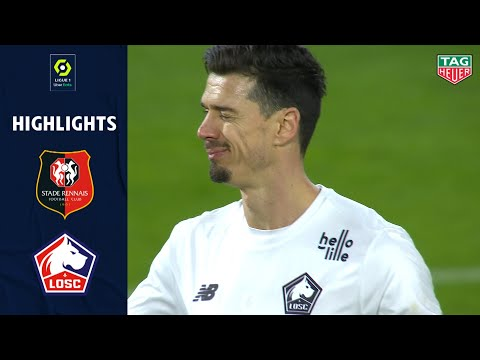 STADE RENNAIS FC - LOSC LILLE (0 - 1) - Highlights - (SRFC - LOSC) / 2020-2021