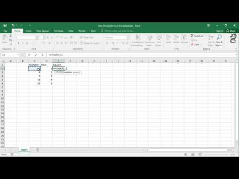 How To Calculate Root And Square (Using POWER And SQRT) In Excel
