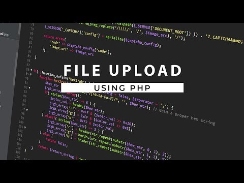 Upload A File To MySQL Database Using PHP