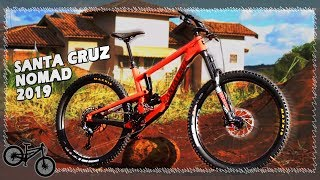 SANTA CRUZ NOMAD CARBON 2019 Unboxing, Bike Check e Review