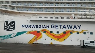 Boarding Day- Norwegian Getaway Baltic Sea Cruise Vlog (ep1)