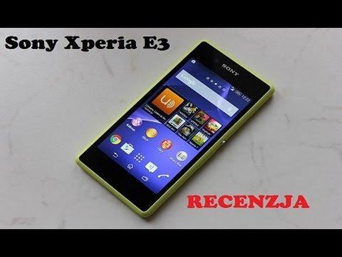 Sony Xperia E3 - smartfon do 600 zł z LTE [RECENZJA]