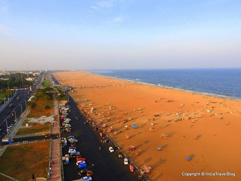 Marina Beach, Chennai - one of the most happening places in Chennai