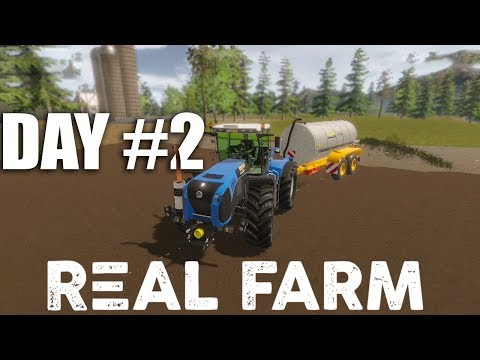 Real farm Day #2, Its time to buy some animals and feed them! Pigs are Hungary too!