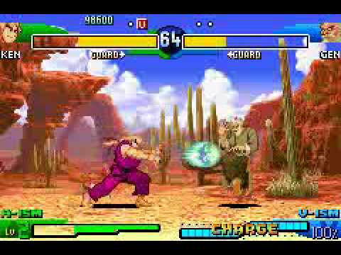 Street Fighter Alpha 3 Upper Game Boy Advance With Commentary