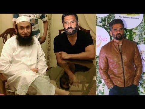 Bollywood actor the Legend Sunil Shetty Pakistani Maulana Tariq Jameel news