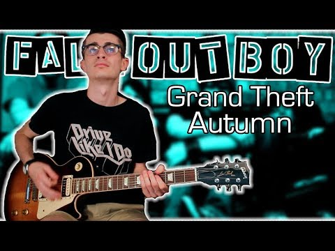 Fall Out Boy - Grand Theft Autumn (Guitar & Bass Cover W/ Tabs)