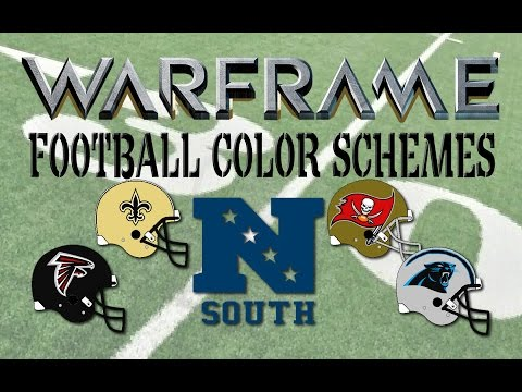 WARFRAME : NFC SOUTH Skins - Football Color Schemes 6
