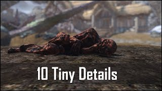 Skyrim: Yet Another 10 Tiny Details That You May Have Missed in The Elder Scrolls 5 (Part 7)