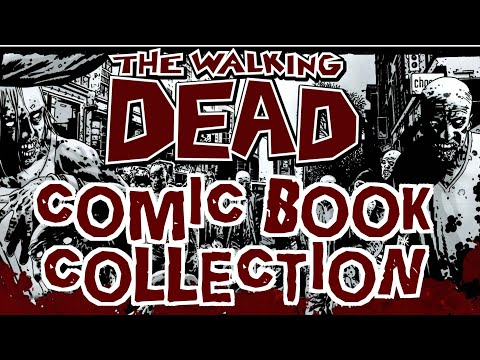 Looking Into A Walking Dead Comic Book Collection