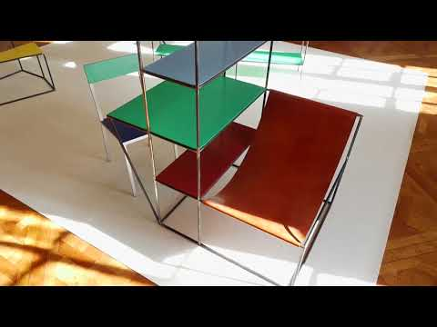 Exposition design du duo Muller / Van Severen
