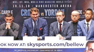 Uysk vs Bellew UNDERCARD PRESS CONFERENCE | Matchroom Boxing