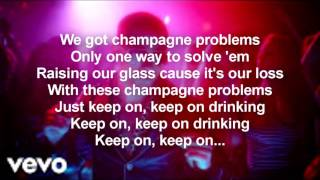 Nick Jonas - Champagne Problems [Official Lyrics]