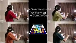 【フルート戦隊ともちゃんず】 N.Rimsky-Korsakov/The Flight of the Bu...