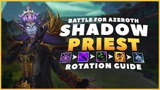 BFA: Shadow Priest Rotation Patch 8.0.1