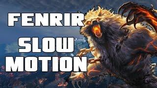 Fenrir - Smite Slow Motion - Maximum Salt