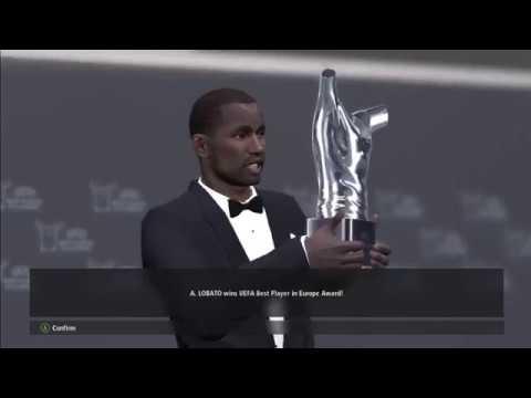 Lobato Win UEFA Best Player In Europe Award