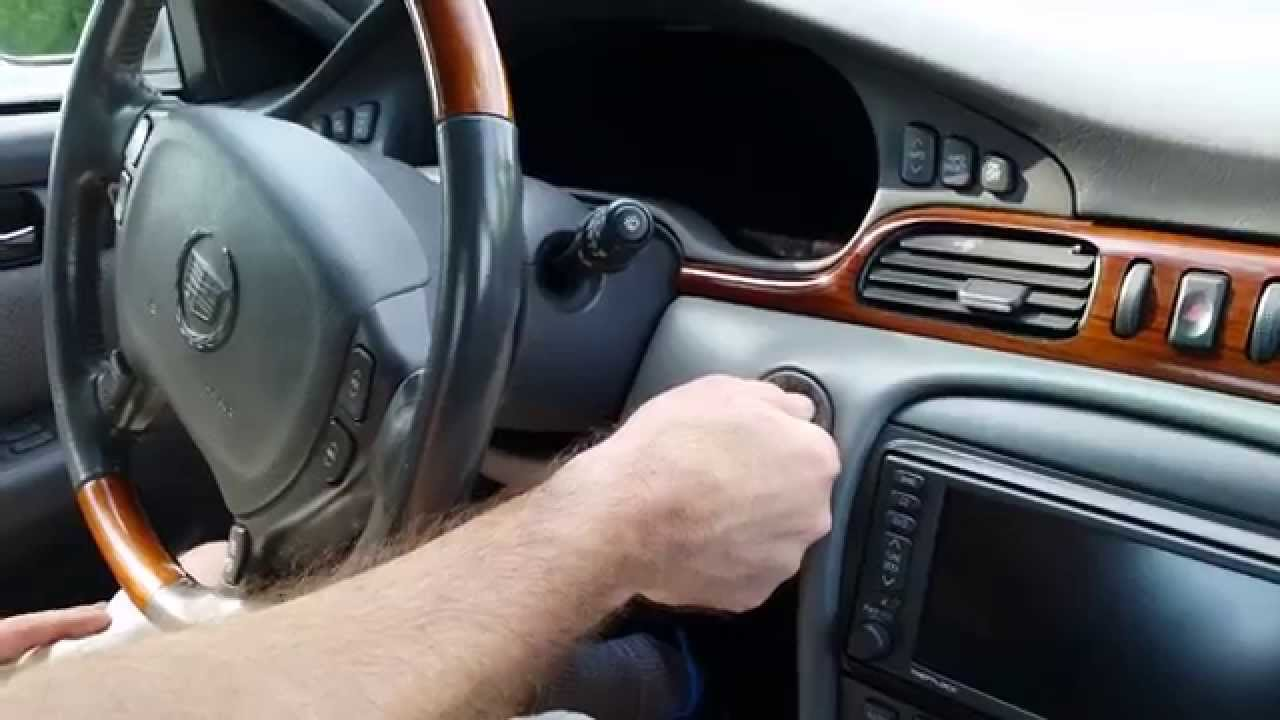 2002 Cadillac Seville Sts Youtube
