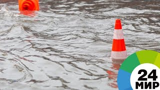 Десятки сел затопило в Казахстане - МИР 24