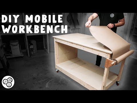 DIY Mobile Workbench for Small Workshops and Garages | How To | Build