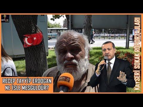 Recep Tayyip Erdoğan Ne İş Yapıyor? - Kayseri Sokak Röportajları #9