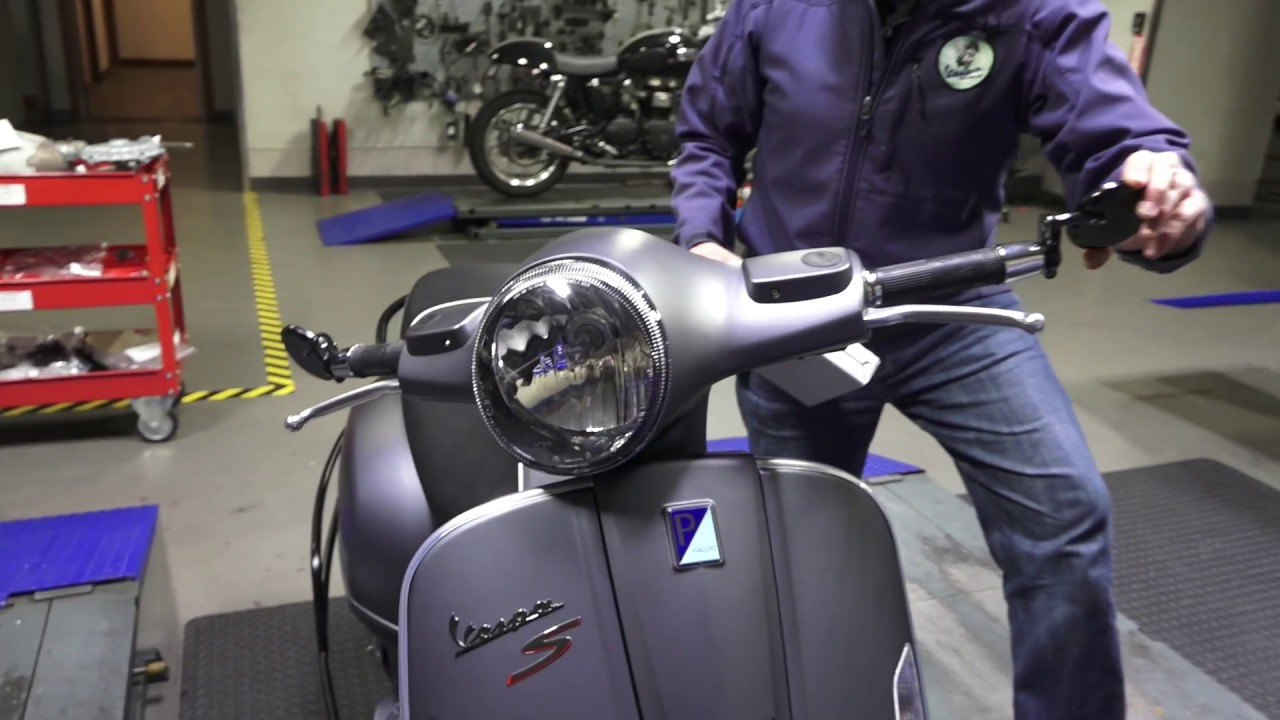 Bar End Mirrors For Vespa Scooters