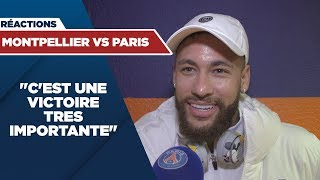 VIDEO: REACTIONS : MONTPELLIER vs PARIS SAINT-GERMAIN