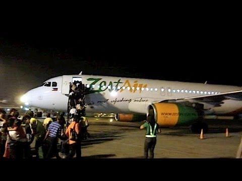 PINOY TRAVEL Ep.18 : First Flight with Zest Airways   Manila - Iloilo   Part 1/2