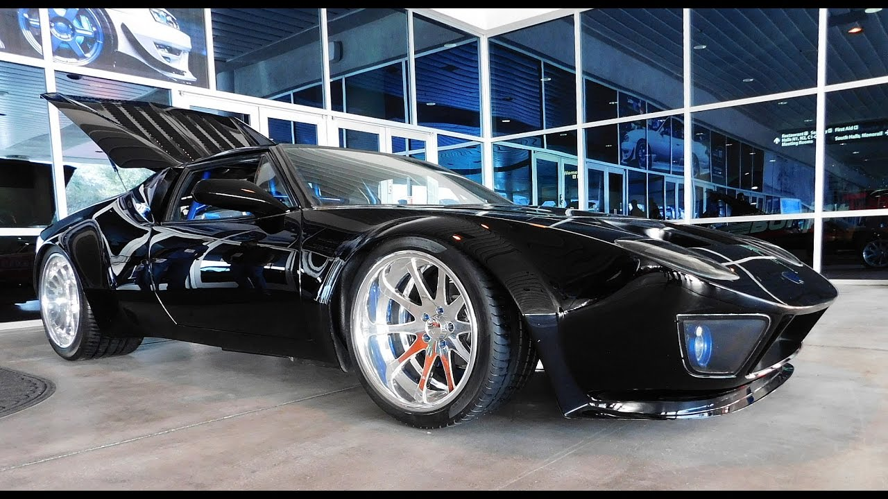 De Tomaso Pantera Widebody Ford Gt Front End The Sema Show