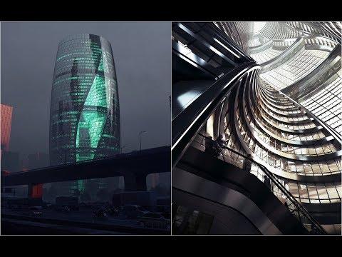 Zaha Hadid Architects' Beijing tower | Zaha Hadid and Patrik Schumacher | HD