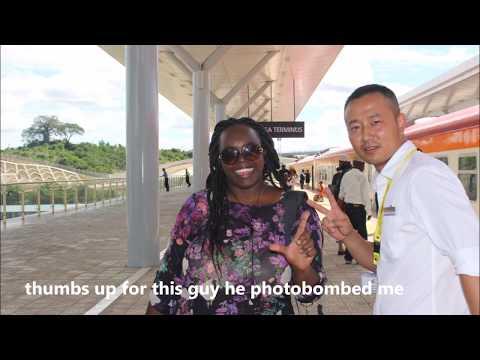 "MY RAILWAY,MY STORY   ABOARD SGRTRAIN ""蒙内铁路"". SGR肯尼亞火車  NAIROBI-MOMBASA TERMINUS Vlog"