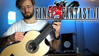 Final Fantasy VI - Coin Song - Acoustic Guitar Cover видео