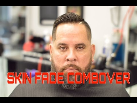 low-skin-fade-|-comb-over-with-beard-|-how-to-fade-hair