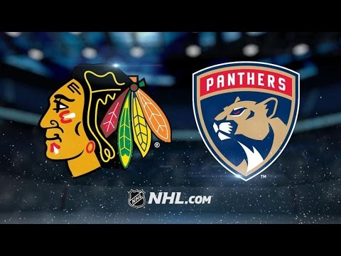 Chicago Blackhawks Vs. Florida Panthers | NHL Game Recap | March 25, 2017