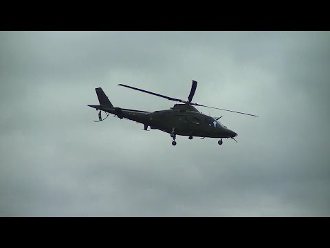 RAF Cosford Airshow 2016: AgustaWestland AW109