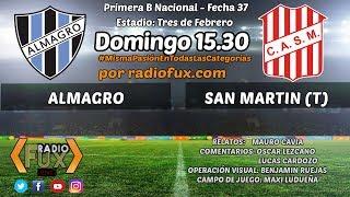 Almagro vs San Martin de Tucuman full match