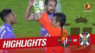 Resumen de Real Valladolid vs CD Tenerife (3-1)