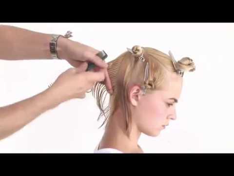 Asymmetrische Kurze Frisur Für Dicke Haare Bob Peek A Boo Frisur