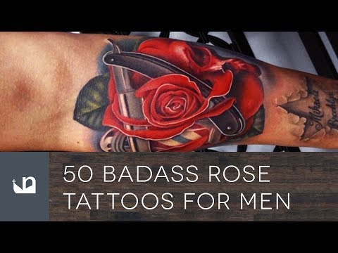 50 Badass Rose Tattoos For Men