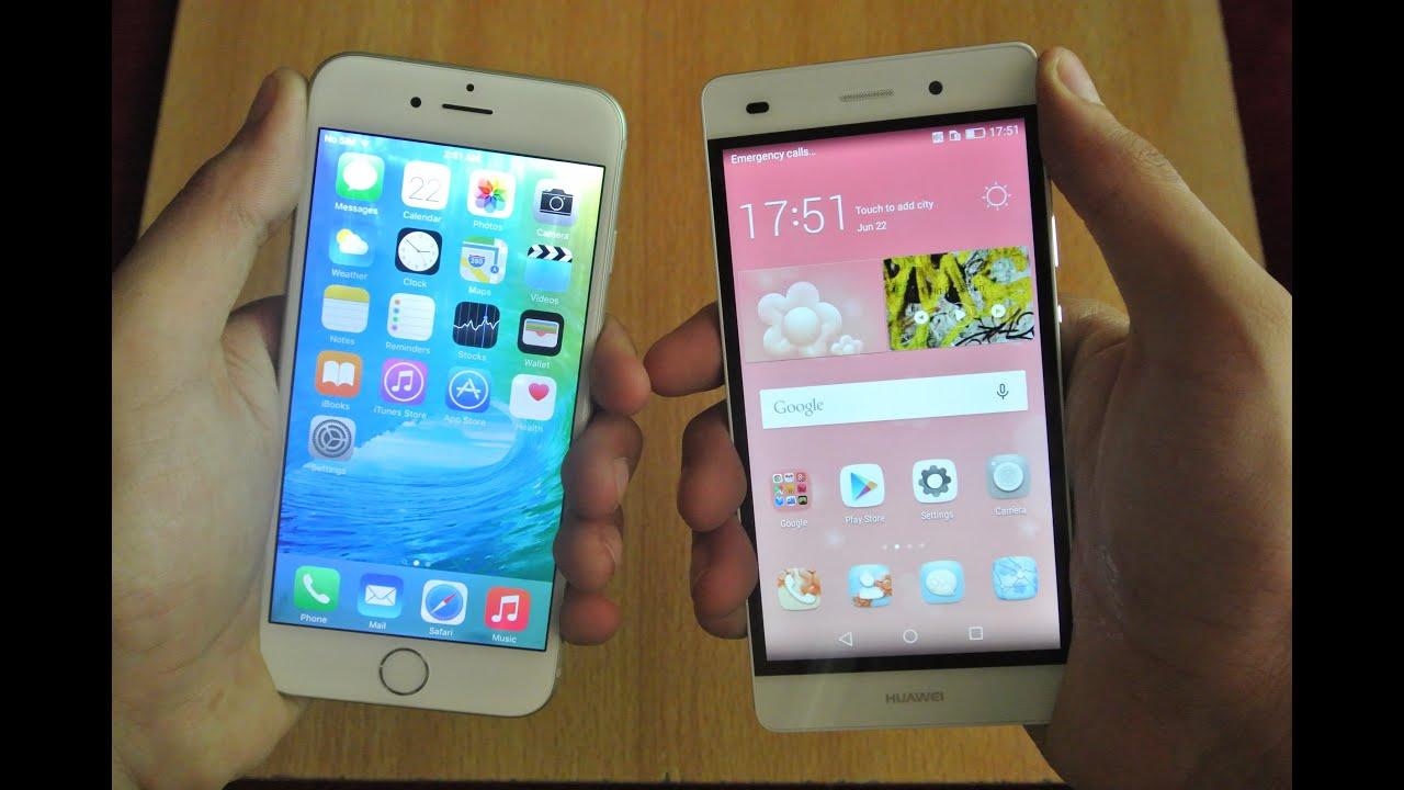 huawei p8 lite vs iphone 6. huawei p8 lite vs iphone 6 o