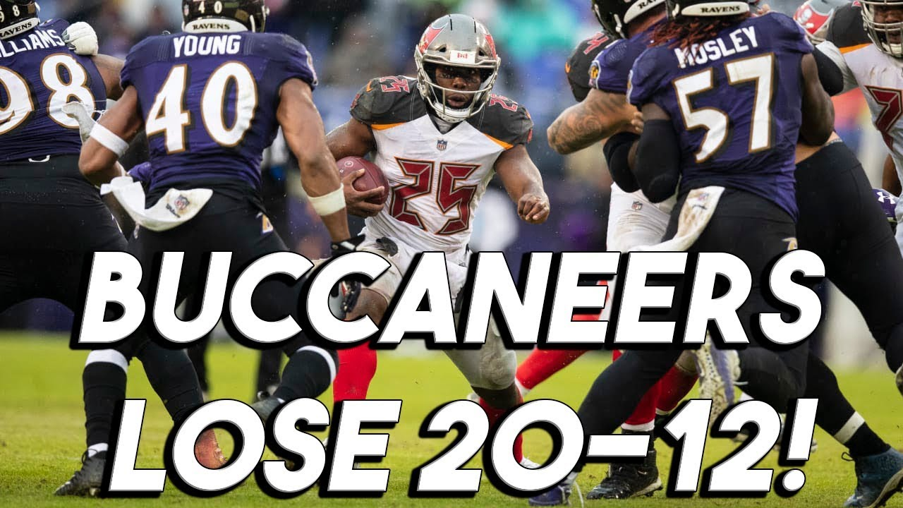 4ddc627e8df Ravens Defeat Buccaneers 20-12! Buccaneers 2018 week 15 Review ...