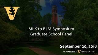 From Mlk To Blm: Vanderbilt Graduate School Panel