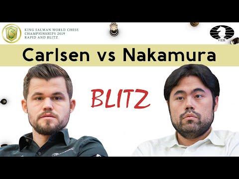 This game made Magnus the World Blitz Champion 2019 | Carlsen - Nakamura | TIEBREAK Game 2 |