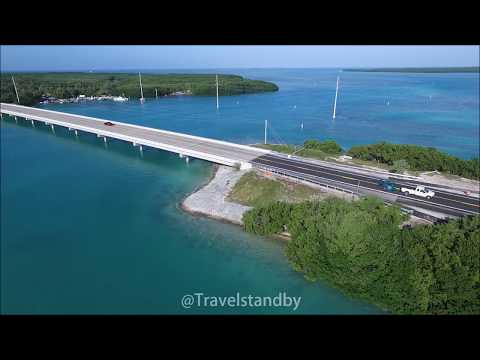 Florida Keys and 7 mile Bridge 4K