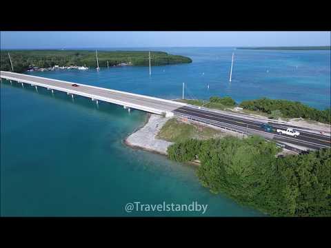 Florida Keys and 7 mile Bridge 4K